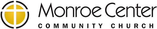 Monroe Center Community Church, footer logo