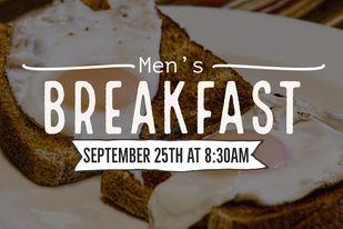 mens breakfast sep21